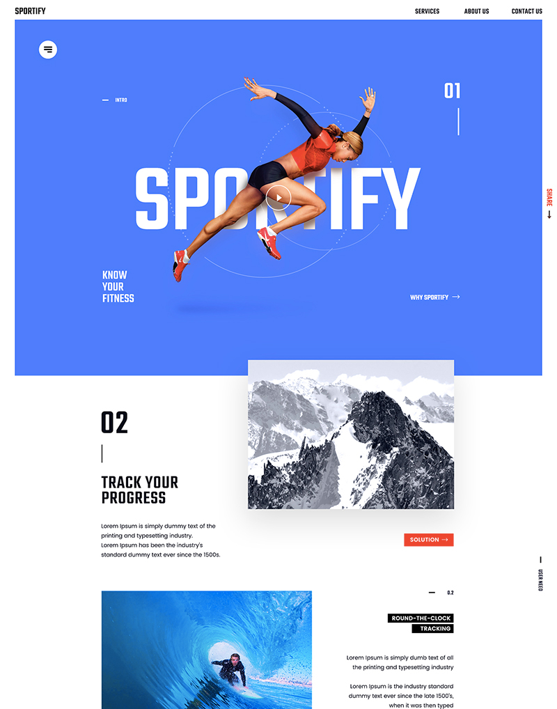 sportify-concept