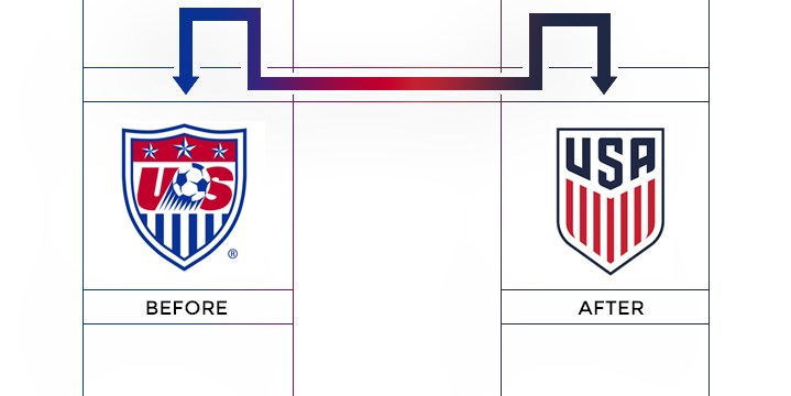 usa soccer federation logo redesign