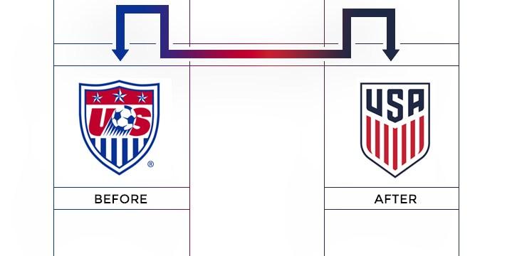usa soccer federation logo redesign