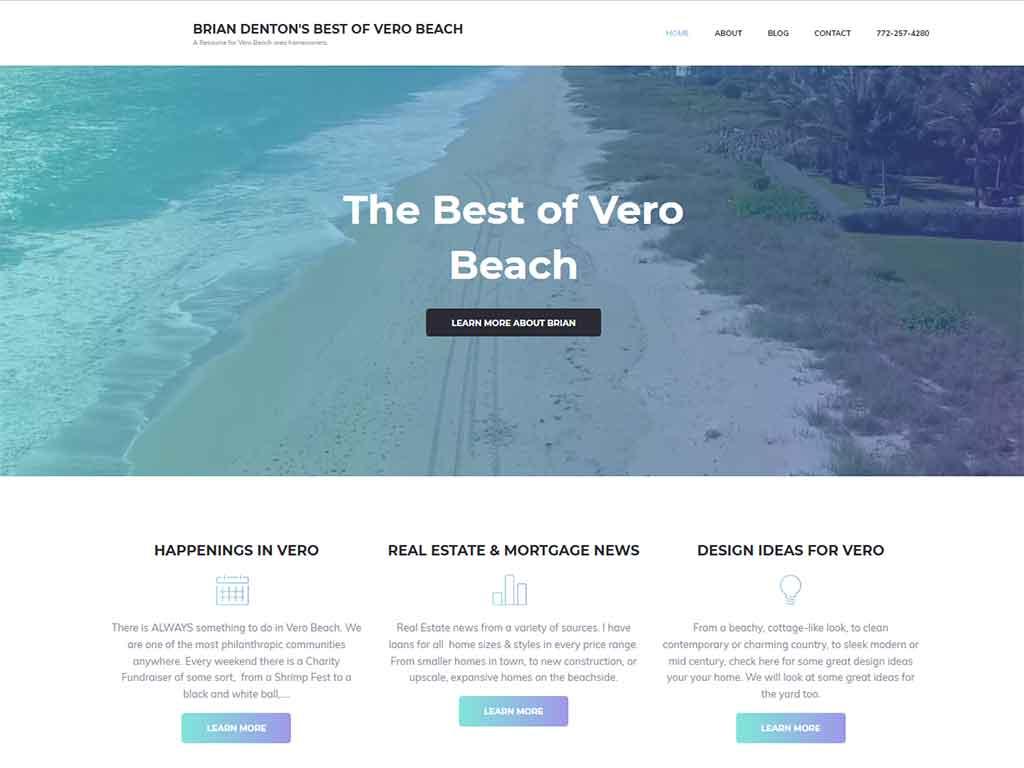 Vero Beach Mortgage expert Brian Denton Blog2
