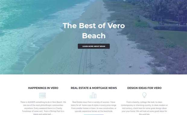 Vero Beach Mortgage expert Brian Denton Blog2