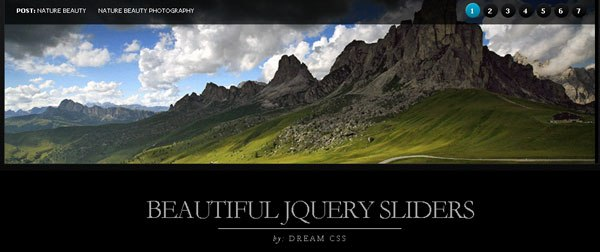 Create Beautiful jQuery Slider Tutorial