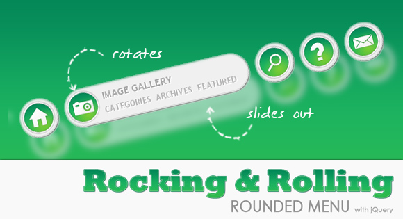 Rocking and Rolling Rounded Menu