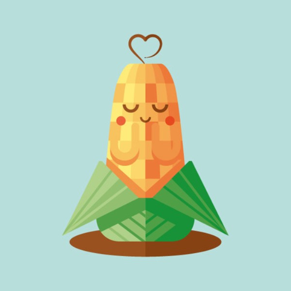 How to Create a Cute Corn Illustration with Basic Shapes