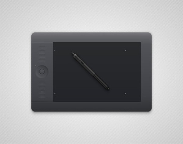 How to Create a Semi-Realistic Graphics Tablet