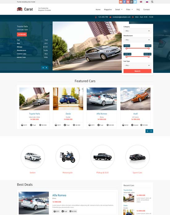 Carat-Responsive-Automotive-Drupal-Theme