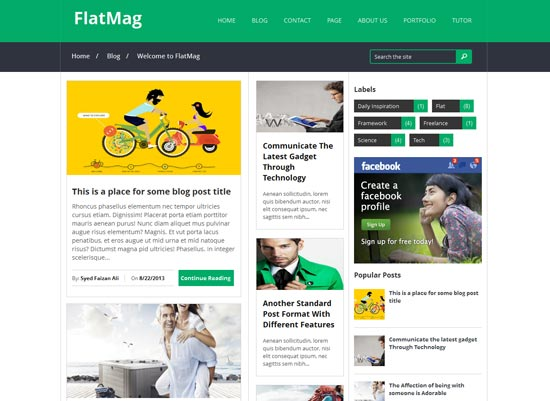 Flat-Mag-Responsive-Blogger-Template