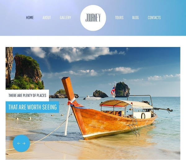 jQuery Travel HTML5 CSS3 Theme