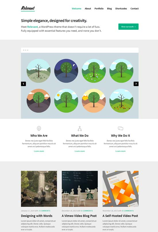 Relevant-WordPress-Theme