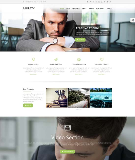 Sarraty-Retina-Responsive-Multi-Purpose-Theme