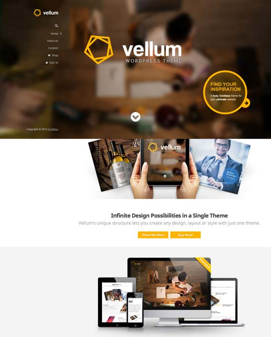 Vellum-best-wordpress-theme-february-2014