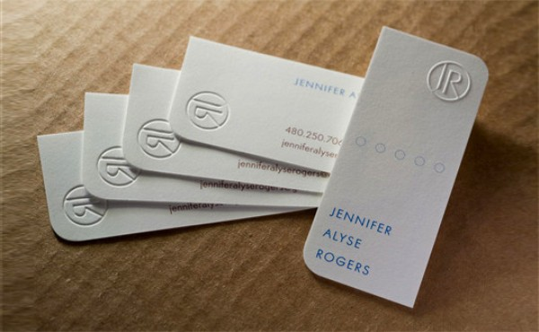 White Business Cards 8