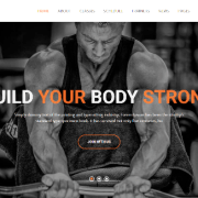 55+ Best Fitness Gym Website Templates