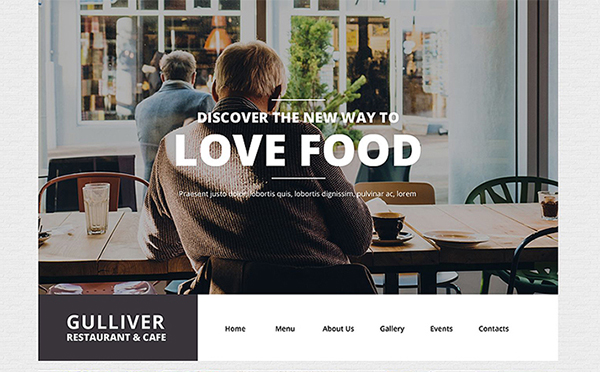 Cafe And Restaurant WP Theme