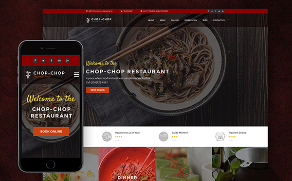 Asian Food WordPress Theme