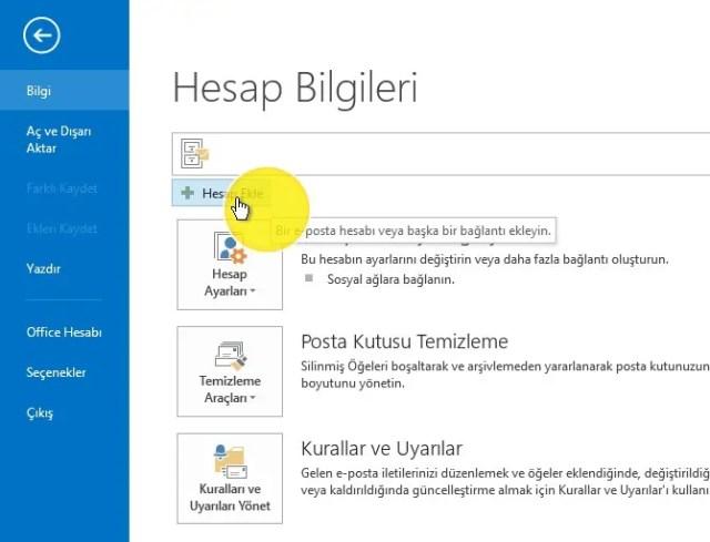 Mail okundu bilgisi Yandex