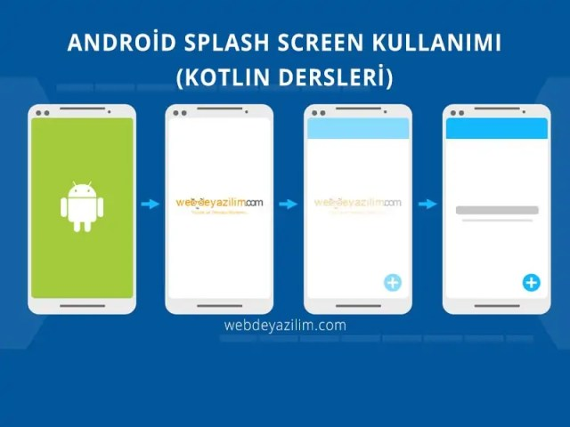 Android Splash Screen Kullanımı