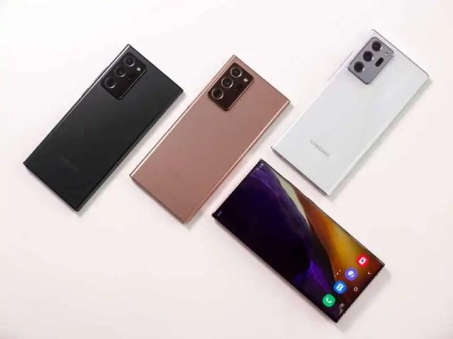 Samsung Galaxy Note20 ve Note20 Ultra