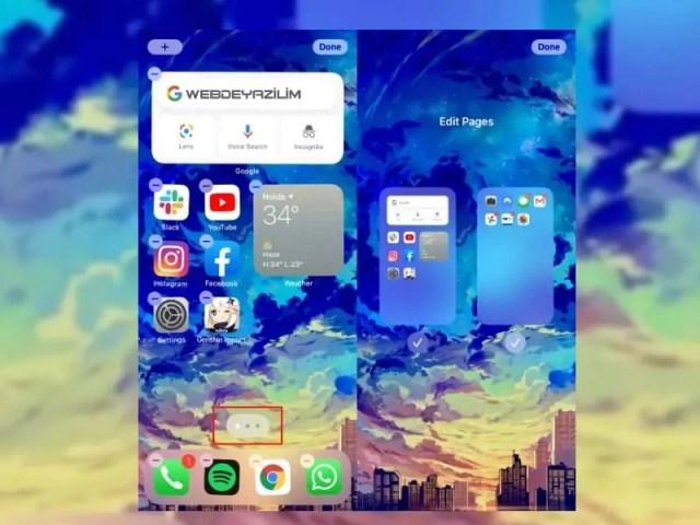 iOS-14-Ana-Ekranındaki-uygulama-sayfaları