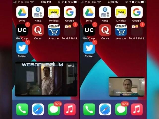 iOS-14-Resim-içinde-resim