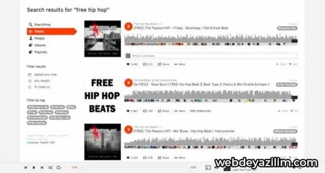 SoundCloud - Müzik İndirme Sitesi