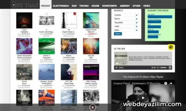 CCtrax - Müzik İndirme Sitesi