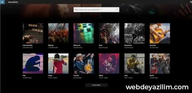 SoundClick - Müzik İndirme Sitesi