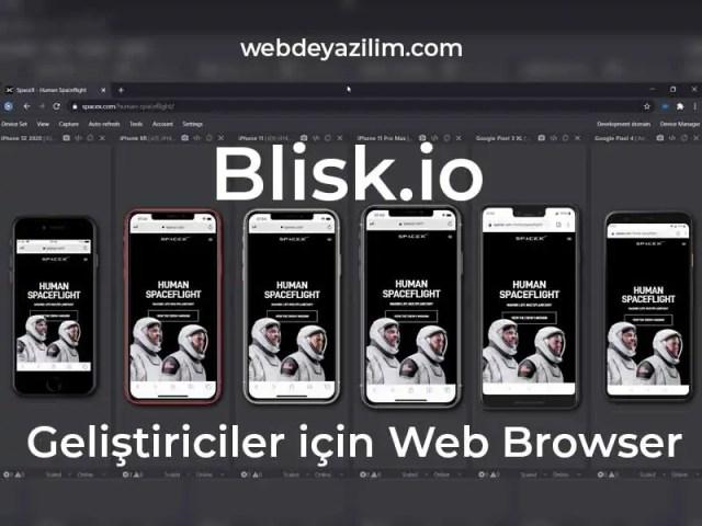blisk web browser