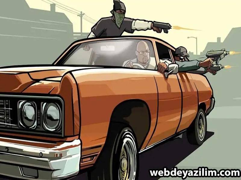 GTA San Andreas Araba Hileleri