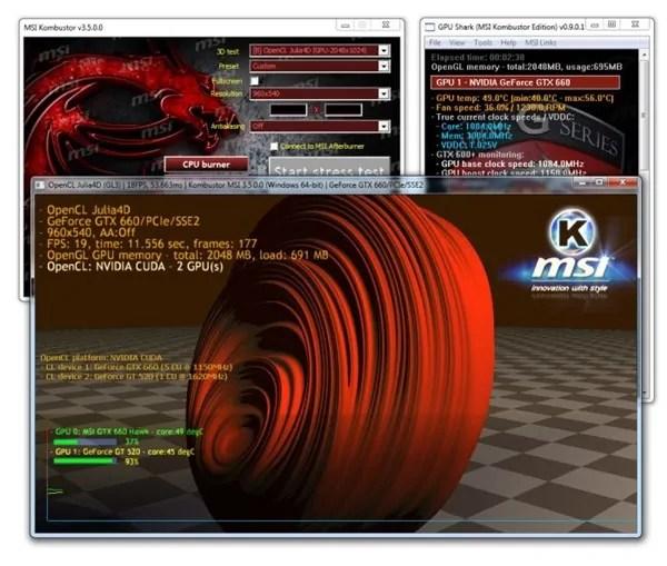 Msi Kombustor Test Programi