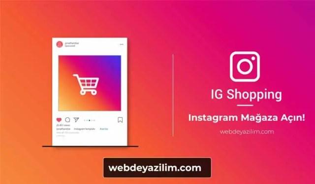 Instagram Mağaza
