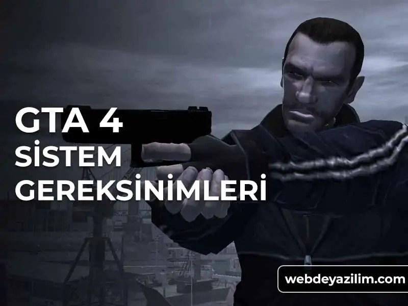 GTA 4 Sistem Gereksinimleri - Donanım Özellikleri