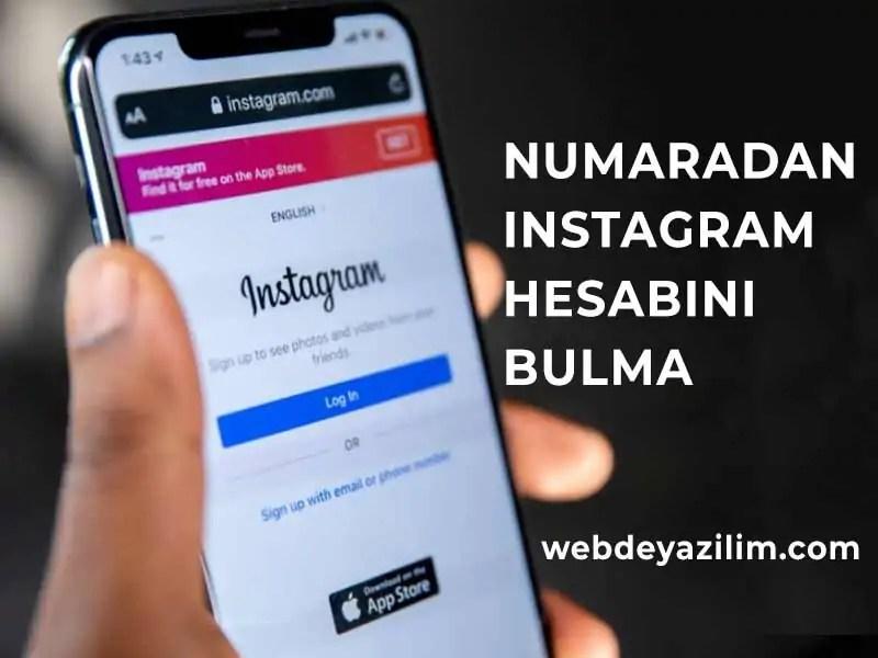 numaradan instagram bulma yöntemleri