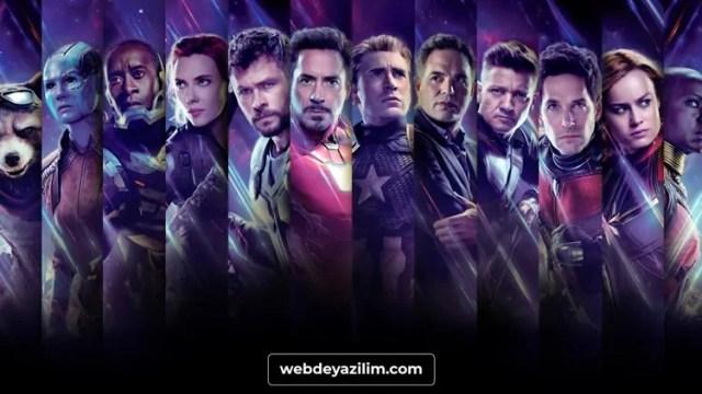 Avengers-Endgame: Oyunun Sonu