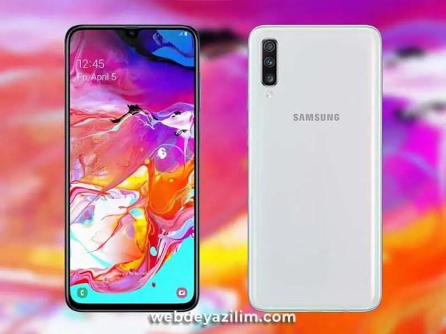Samsung Galaxy A70 Özellikleri