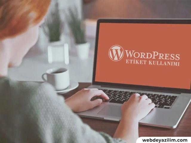 WordPress SEO etiket ilişkisi & yazı etiketlerinin SEO'ya etkileri