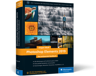 Photoshop Elements 2019 Jürgen Wolf Buch Rezension