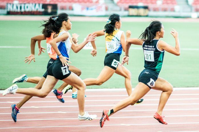 Läufer nach Ausschnitt in Photoshop