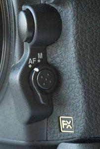 Autofocus Wähler Nikon D810