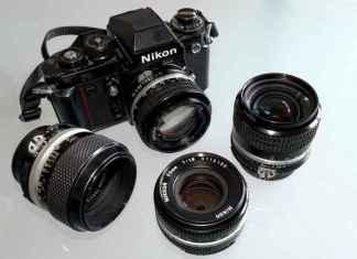 Nikon F3 und Objektive