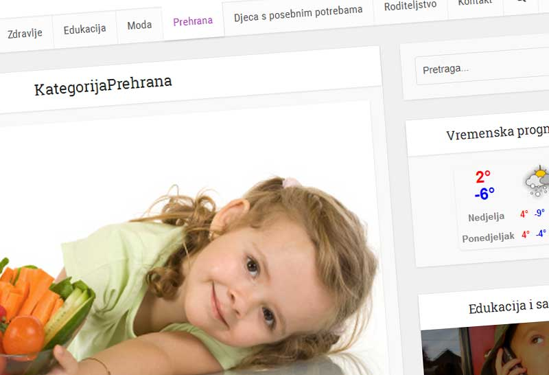 Dječja posla web portal
