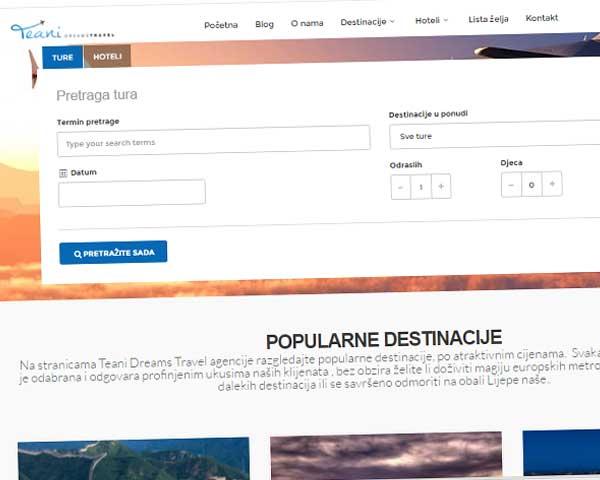 Site za planiranje putovanja