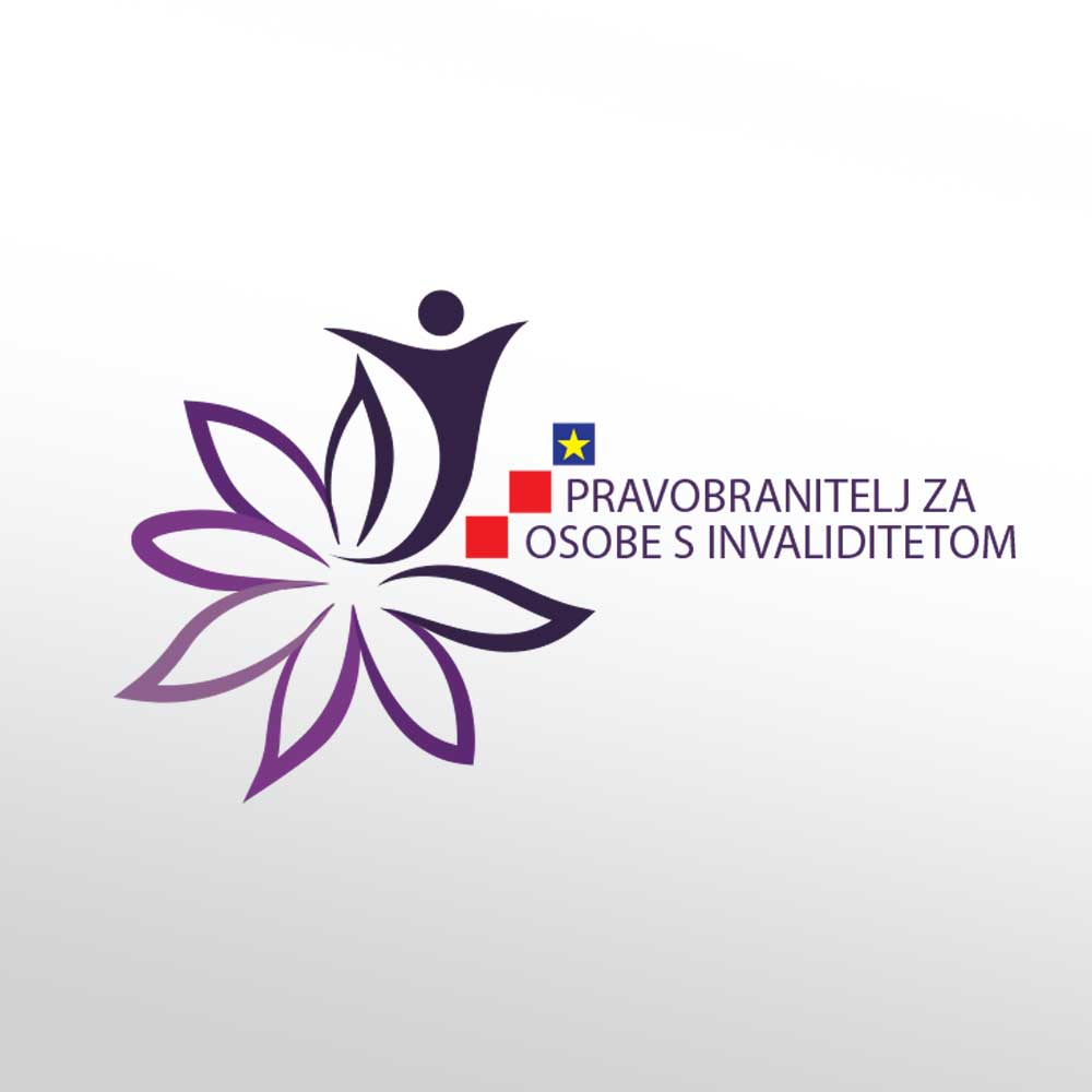Logotip za Pravobranitelja za osobe s invaliditetom republike Hrvatske