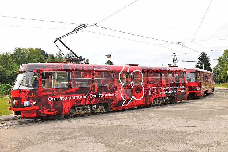 Oslikavanje tramvaja