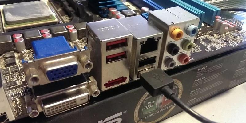 Не работают USB порты - пути решения проблемы