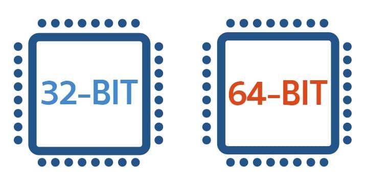 32 bit 64 Bit Arasında ki Farklar Nelerdir ?