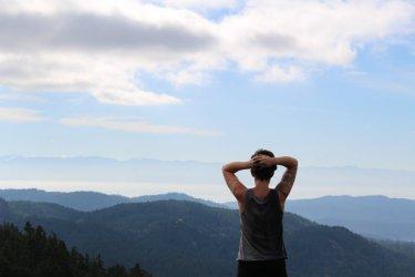 Oh those views. Sugarloaf Mt.