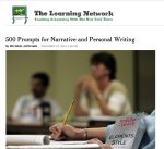 , 500 Prompts Narrative And Personal Writing, WebEnglish.se