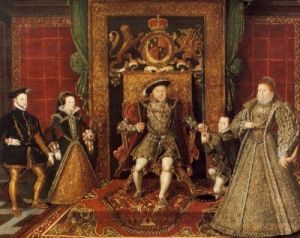 The Tudors of England
