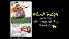 #BookSnaps w/Snapchat (Revised) - R.E.A.L. Talk w/Tara M. Martin Episode 29 - YouTube